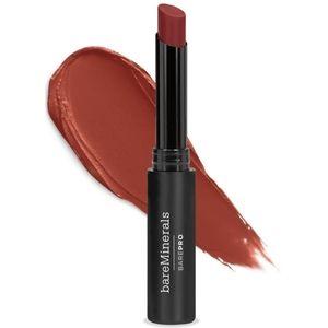 BareMinerals longwear lipstick in Nutmeg